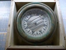 Antique Wilcox & Crittenden Ship's Compass in Box