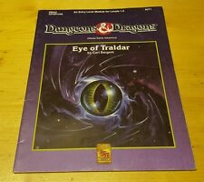Dungeons and Dragons D&D Eye of Traldar Game Adventure DDA3 TSR 9271