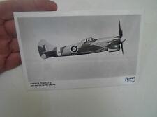 RP Postcard - Hawker Tempest V - One Napier Sabre Engine - Aeroplane