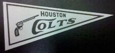 1966 Jetco HOUSTON COLT 45's Pennant sticker