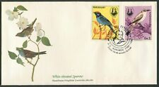 PARAGUAY - 1986 'WHITE-THROATED SPARROW' Audubon Birds First Day Cover [C3264]