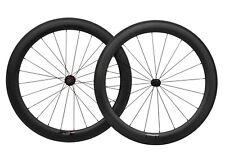 60mm Carbon Wheels Road Bike Sapim Clincher 700C Ud Matt Rim brake Chosen 11s