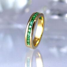 Jette Joop Ring in 750/- Gelbgold glänzend mit 16 Smaragden Edelsteine