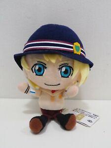 "Uta no Prince-sama Kurusu Syo Banpresto 2013 keychain Plush 5"" TAG Doll Japan"