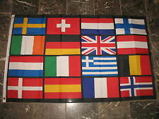 3x5 Europe European Nation Nations Flag 3'x5' Brass Grommets Fade Resistant