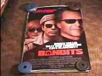 BANDITS ROLLED 27X40 MOVIE POSTER BRUCE WILLIS