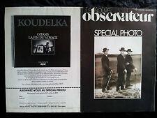 Le Nouvel Observateur Spécial photo N°1 Juin 1977 Parfait état Photographe
