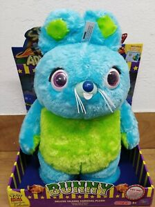 Toy Story 4 Signature Collection Deluxe Talking Carnival Plush Bunny
