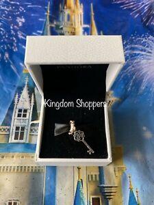 Disney Parks Exclusive Pandora Cinderella Castle Mickey Key Charm Authentic