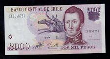 CHILE  2000  PESOS  1997  PICK # 158a  UNC.
