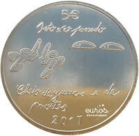 5 euros commémorative PORTUGAL 2017 - The Youth and the Future - UNC