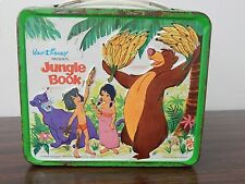 Vintage 1966 Aladdin/Disney JUNGLE BOOK Tin Lunch Box