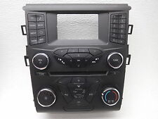 OEM Ford Fusion Radio Temperature Control Panel Face Plate-Light Cover Visual