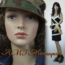 Female display mannequin on sale ,durable plastic manikin-P8 +2FreeWigs