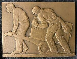 Médaille Bonze Défense Nationale Bâtiment & travaux publics Burger 1967