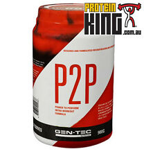 GENTEC P2P INTRA WORKOUT 900G ORANGE BCAA AMINOS RECOVERY BCAAS RECOUP GEN TEC