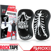 RockTape Assassins Knee Support Sleeves | Pair | 7mm | Skull | CrossFit