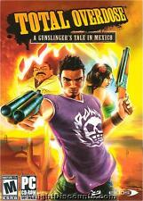 TOTAL OVERDOSE Mexican Drug War PC Game NEW BOX WinXP!