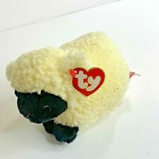 Ty Classic Woolly Wooly Lamb Sheep 7 in Length New Plush Stuffed Animal Toy 8005