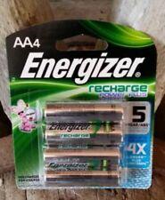 NIP  Energizer recharge AA 2300mAh batteries 4pk.  $$$FREE USA SHIPPING$$$