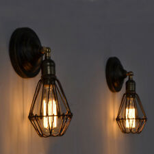 Indoor Wall Lights Vintage Kitchen Lighting Bar Brown Wall Lamp Home Wall Sconce