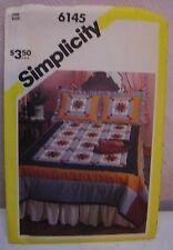 1983 Simplicity Star Variation Quilt Pattern Uncut FF