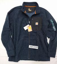 Carhartt Walden Full Zip Fleece Sweatshirt  NAVY [CBX33-2273]
