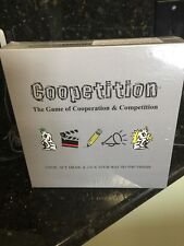 Coopetition - Board Game - Think Act Draw & Talk Your Way To The Finish New