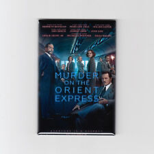 "MURDER ON THE ORIENT EXPRESS (2017) - 2"" x 3"" MOVIE POSTER MAGNET (depp print)"