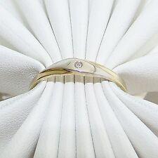 Ring Gold 333 Diamant bi-color 8 kt. Goldringe Edelsteine
