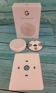 🔥Google Nest ThermostatE - White (T4000ES) For Parts or Repair🔥