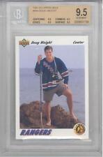 1991 Upper Deck Doug Weight (Rookie Card) (#444) (All 9.5 subs) BGS9.5 BGS