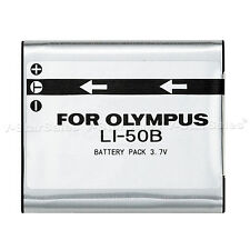 LI-50B LI50B Battery for Olympus Stylus, MJU, S, Tough, VR, X Cameras