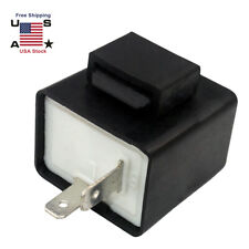 12V 2Pin Electronic LED Turn Signal Flasher Relay Fix For Light Fast Hyper Flash