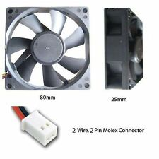 2-Pin 80mm Computer Case Fans