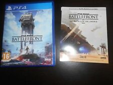 Jeu Sony playstation 4 ps4 Star Wars Battlefront très bon état