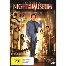 NIGHT AT THE MUSEUM-Robin Williams Ben Stiller-Region 4-New and Sealed