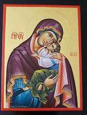 Maria Mutter Gottes Ikone Gottesmutter Jesus Kind Icon Madonna Mother of God