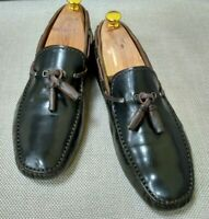 BERLUTI Genuine Leather Men's Brown Loafer Shoes sz 44