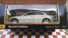 JAGUAR S- TYPE SPECIAL EDITION DIECAST MODEL IN 1:18 SCALE BY MAISTO