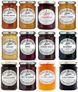 Tiptree Jam Selection - Conserve / Jelly  / Spread / Marmalade Jar Wilkin & Sons