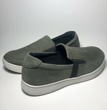 @@@NWOB - DREW Men's JUMP Slip-On Sneaker - GRAY Leather - SLIP ON DIABETIC@@@