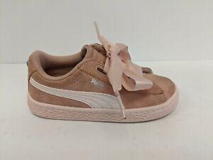 Puma Suede Heart Jewel Sneaker, Pink, Infants 10
