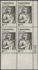 Scott # 1488 - Us Plate Block Of 4 - Nicolaus Copernicus - Mnh -1973
