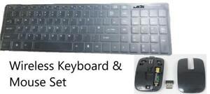 2.4Ghz Wireless Bluetooth Keyboard & Mouse Set for Samsung VG-KBD2000 Models