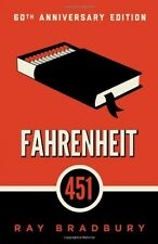 Fahrenheit 451: A Novel by Ray Bradbury, Paperback, 2012, New, Free Shipping