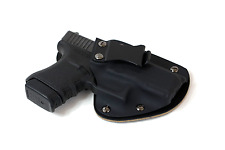 Hybrid Armory IWB Conceal Holster Leather Kydex Single Clip Adjustable Retention