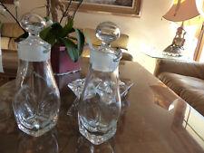 Orrefors Wine Decanter pair, Chrystal, Rare