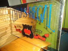 Ancien miroir publicitaire pour le whisky Chivas Regal