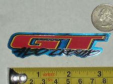 Old mid school NOS GT Bmx bike decal sticker 3 3/8 x 7/8 inches 4130 cro mo